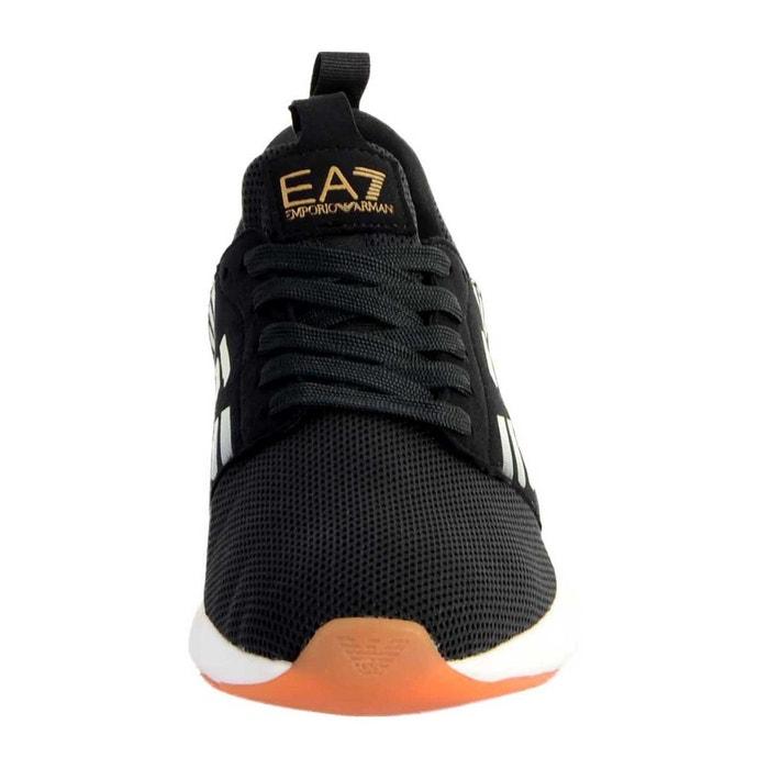 Ea7 Homme Noir Baskets Racer Fusion Mode 7bgYf6y