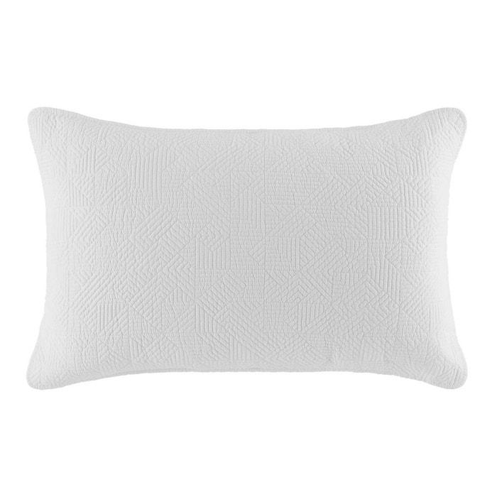 enveloppe de coussin theoreme blanc madura la redoute. Black Bedroom Furniture Sets. Home Design Ideas
