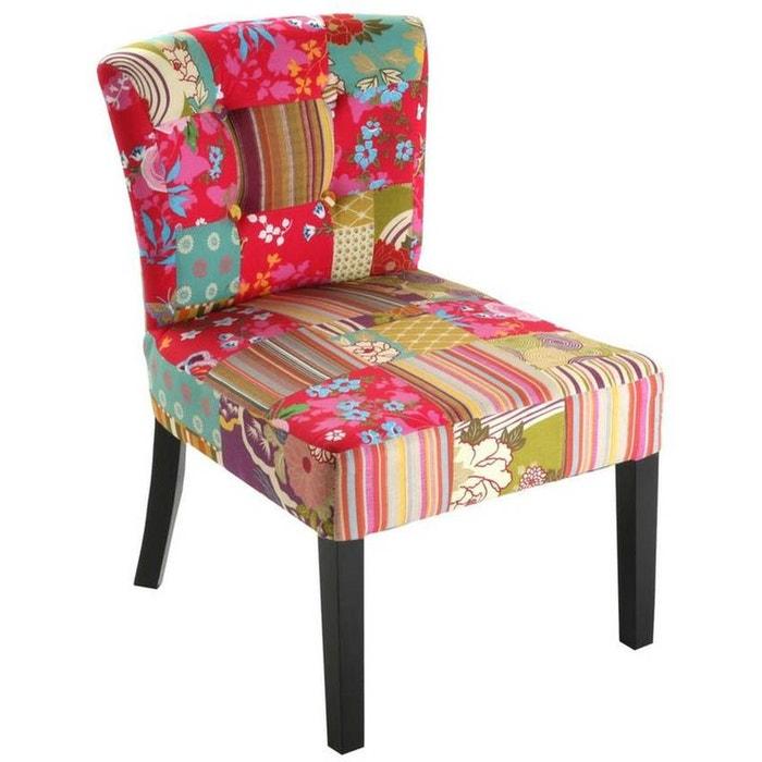 fauteuil patchwork color multicolore wadiga la redoute. Black Bedroom Furniture Sets. Home Design Ideas