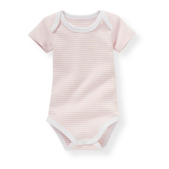 afbeelding Set baby body's in katoen La Redoute Collections