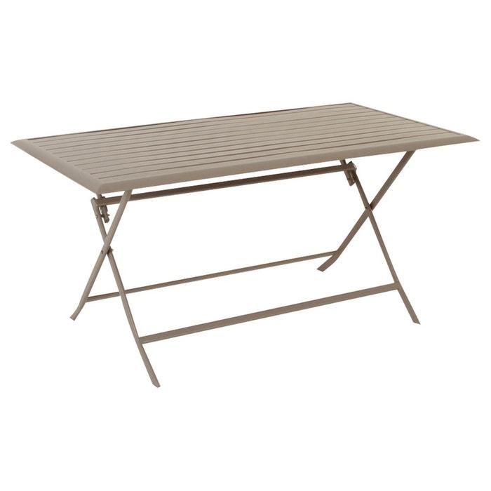Table de jardin rectangulaire azua 6 places ardoise - Table jardin la redoute ...