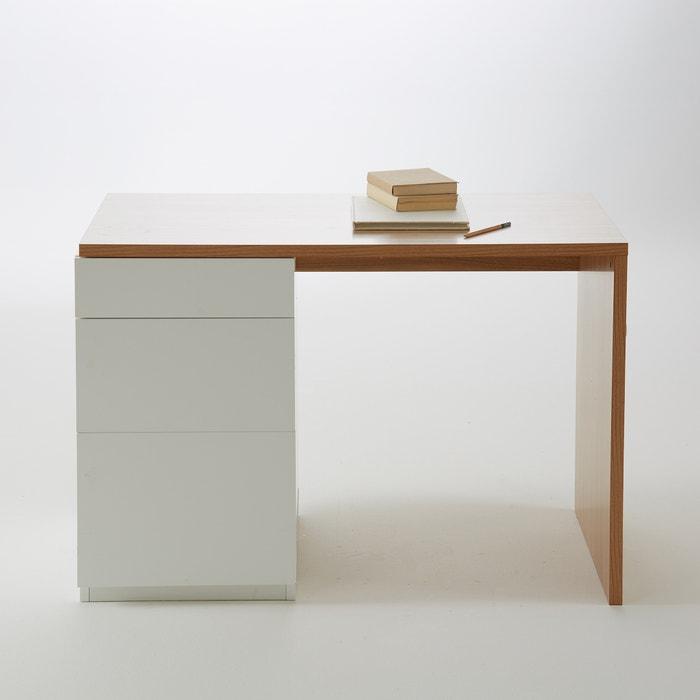 bureau volutif biface la redoute interieurs ch ne blanc. Black Bedroom Furniture Sets. Home Design Ideas