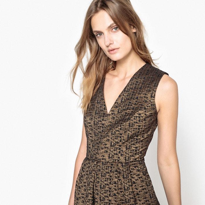 Metallic Jacquard Skater Dress  MADEMOISELLE R image 0