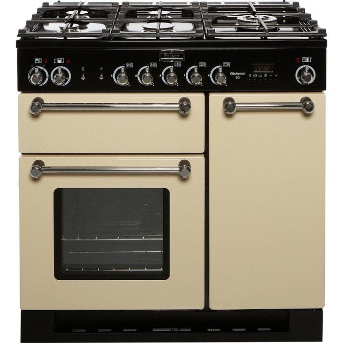 piano de cuisson mixte falcon kitchener 90 mixte creme chrome falcon la redoute. Black Bedroom Furniture Sets. Home Design Ideas