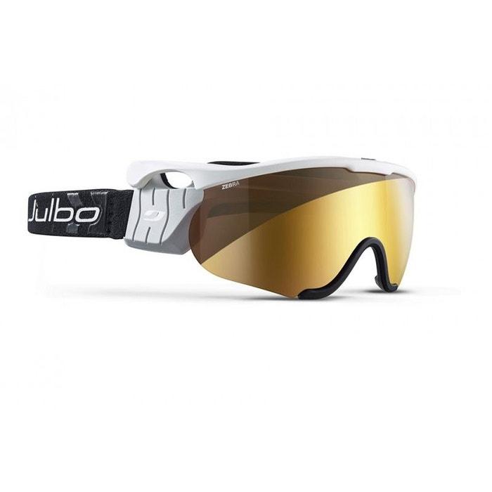 Masque de ski mixte julbo blanc sniper m blanc   gris zebra Julbo   La  Redoute d900f92d8b85