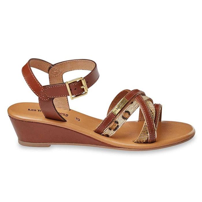 sandales cuir boreal les tropeziennes par m belarbi la redoute. Black Bedroom Furniture Sets. Home Design Ideas