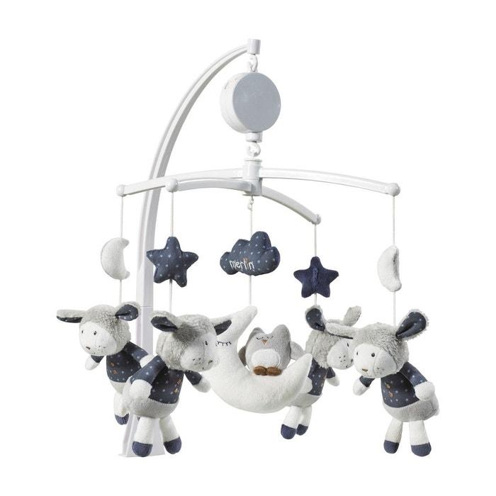 mobile musical b b mouton merlin sauthon blanc sauthon. Black Bedroom Furniture Sets. Home Design Ideas