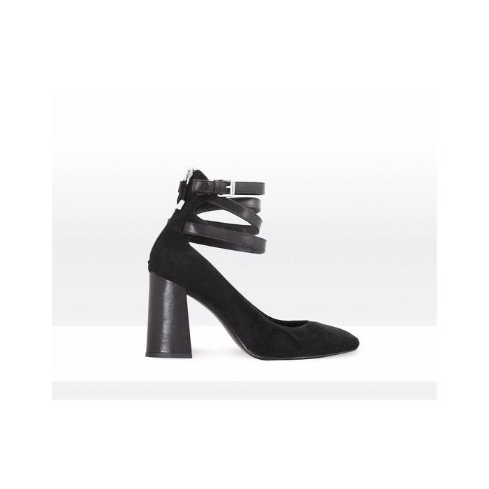 Sandales-ROMY What For en noir pour femme