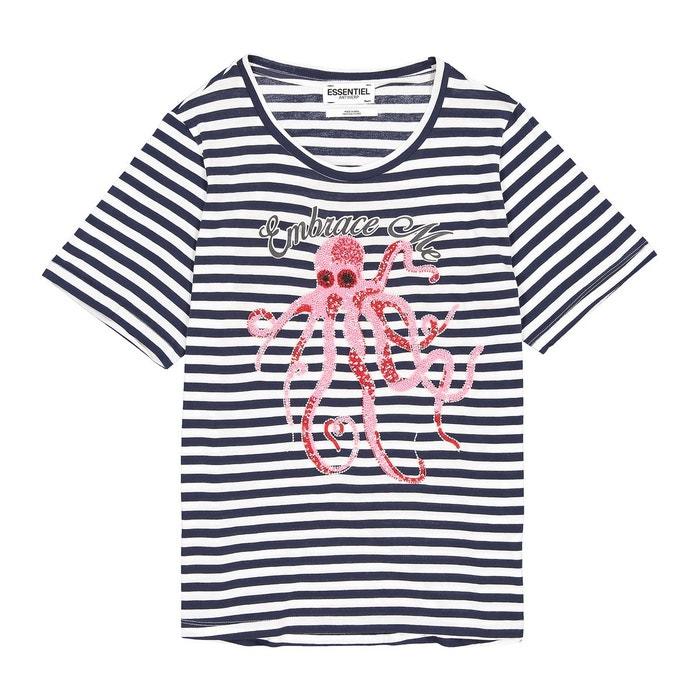 T shirt rayé avec sequins OCCASIONS1 ESSENTIEL ANTWERP