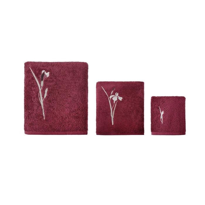 serviette de bain lexquise violet olivier desforges la redoute. Black Bedroom Furniture Sets. Home Design Ideas