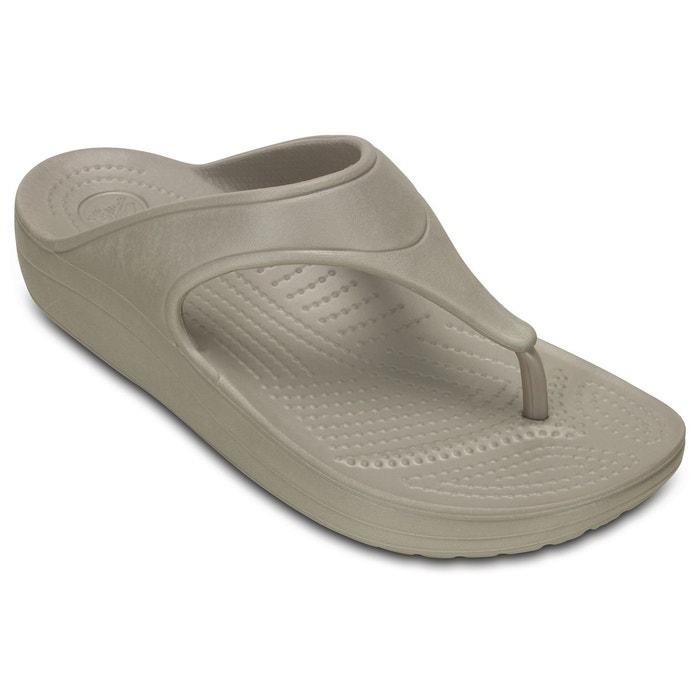 Tongs compensées sloane platform flip Crocs