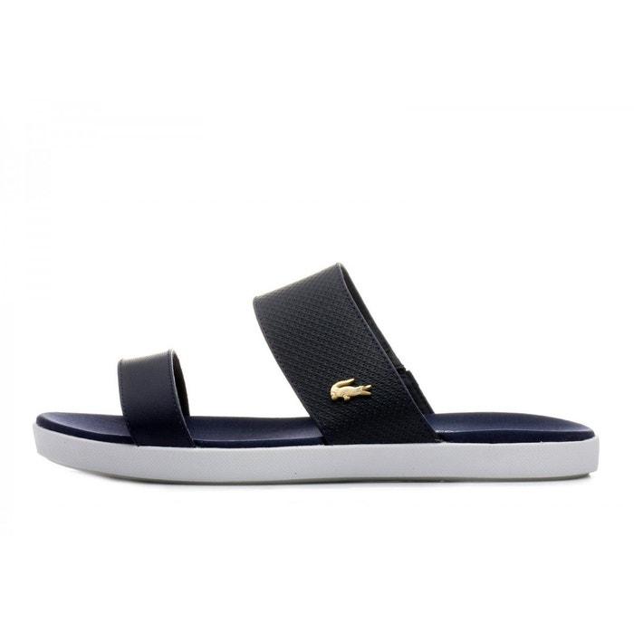 Lacoste Sandale  Natoy 118 1 CAW - 735CAW00458T5 Bleu - Chaussures Sandale Femme