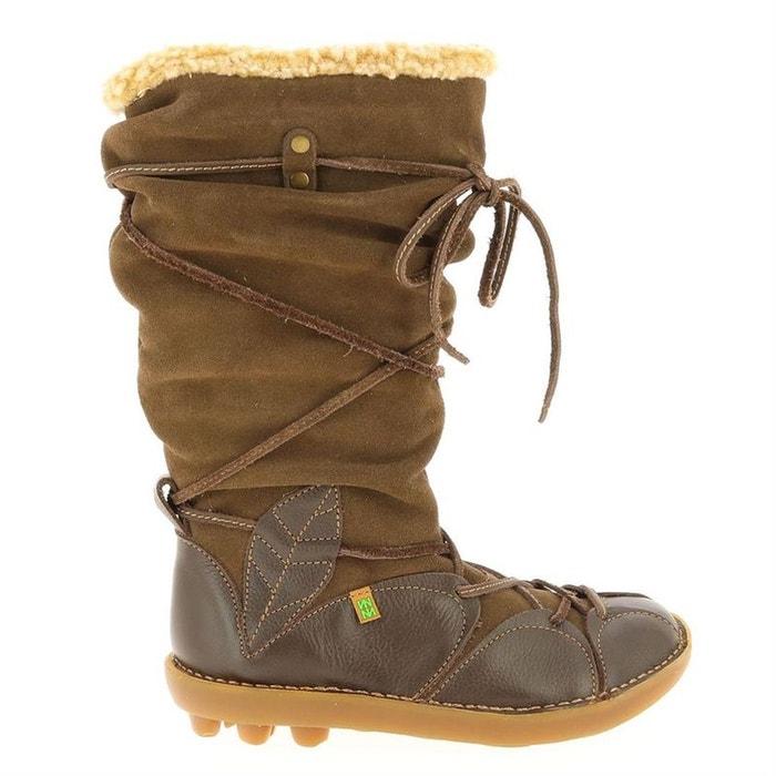 Bottes cuir marron El Naturalista Chaussures Vraiment Pas Cher En Ligne Prix Pas Cher En Ligne Wiki À Vendre En Ligne À Prix Abordable C35mU6fo1d