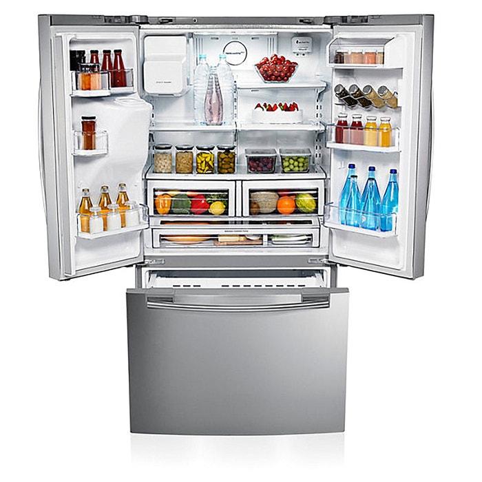 Réfrigérateur Américain Multi Portes Rfguers Inox Samsung La Redoute - Refrigerateur multi portes samsung