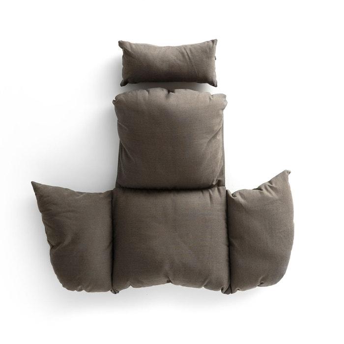 coussin pour fauteuil suspendu bosseda gris am pm la. Black Bedroom Furniture Sets. Home Design Ideas