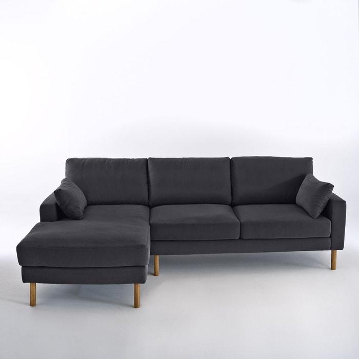 Canapé d angle fixe stockholm coton confort excel La Redoute