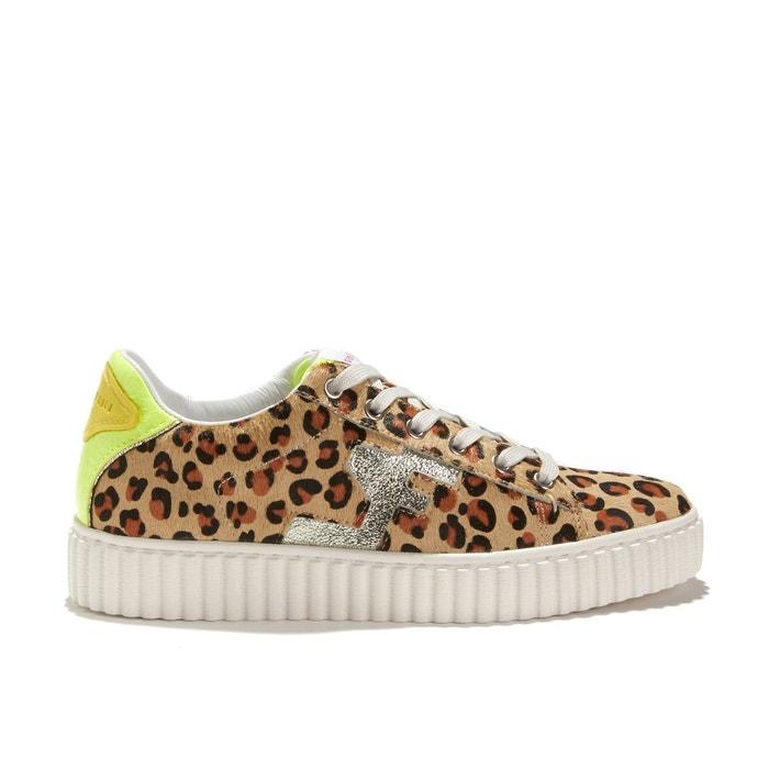 5d32135a01 Baskets à lacets imprimé leopard madisson léopard Serafini   La Redoute