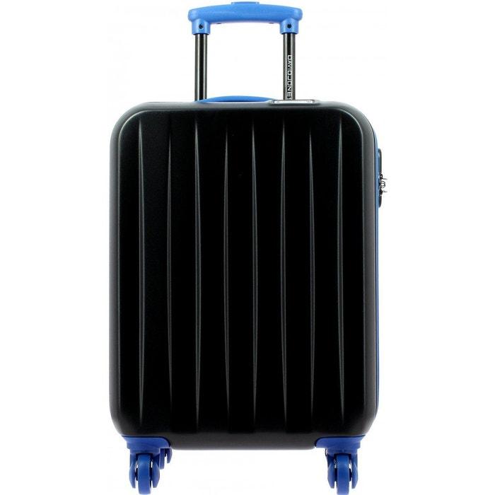 valise cabine ryanair noir bleu david jones la redoute. Black Bedroom Furniture Sets. Home Design Ideas