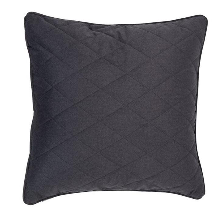 coussin zuiver diamond square 50 x 50 cm gris zuiver la redoute. Black Bedroom Furniture Sets. Home Design Ideas