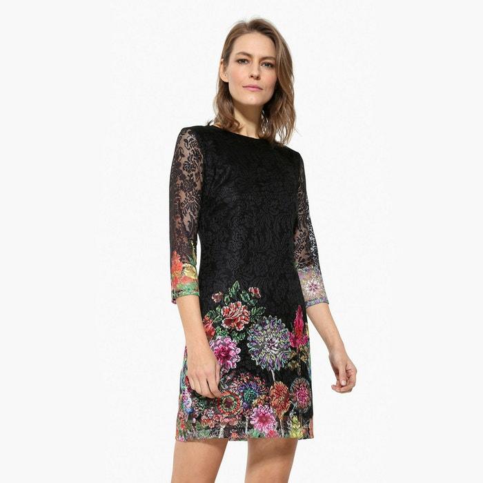 afbeelding Korte jurk met 3/4 mouwen DESIGUAL