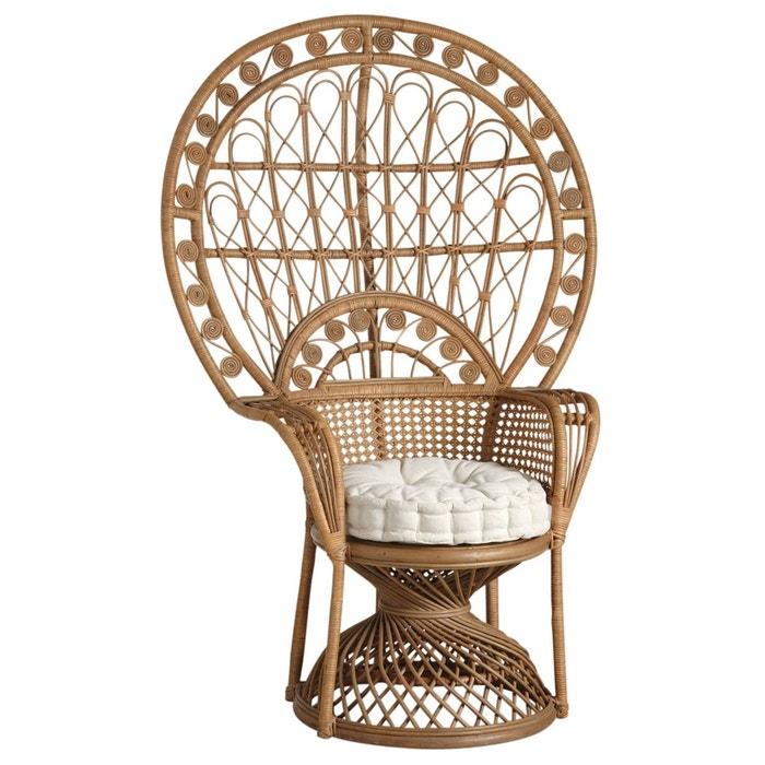 fauteuil emmanuelle en rotin brun aubry gaspard la redoute. Black Bedroom Furniture Sets. Home Design Ideas