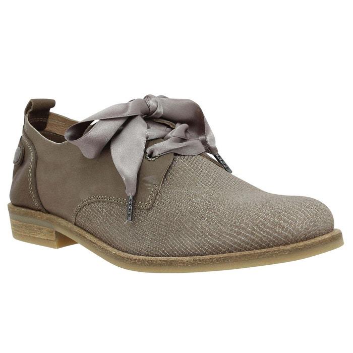 Chaussures à lacets femme pldm by palladium singa toile femme taupe taupe Palladium