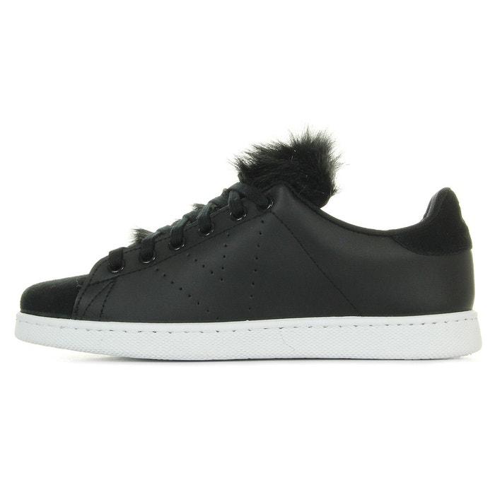Chaussures deportivo piel pelo negro w h17 noir Victoria