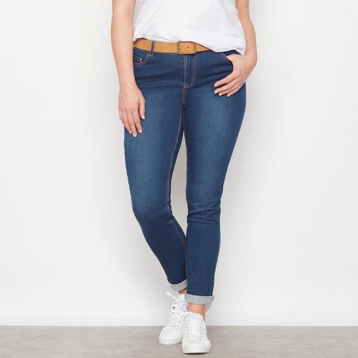 "Image Jean slim stretch ""Silhouette élancée"" entrej. 78 cm. CASTALUNA"