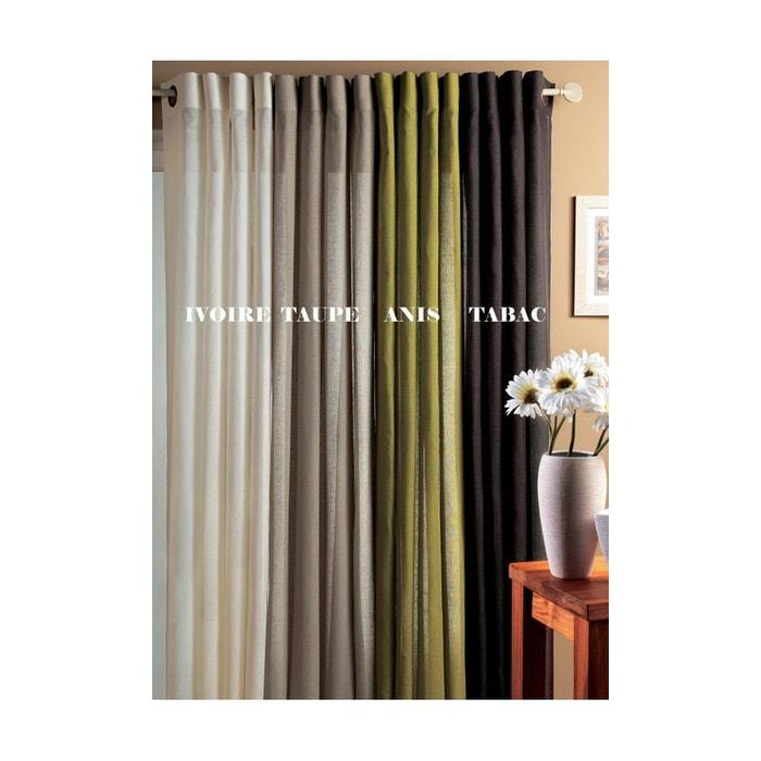 redoute voilage beautiful home maison voilage multicolore en etamine imprims fleuris la redoute. Black Bedroom Furniture Sets. Home Design Ideas