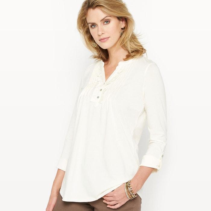 Image T-shirt coton & modal ANNE WEYBURN