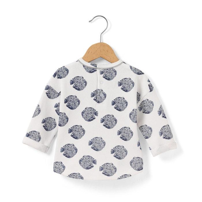 Fish Print Sweatshirt, Newborn-3 Years
