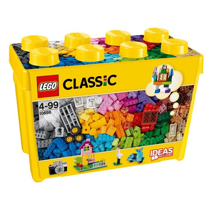 Scatola mattoncini creativi deluxe 10698  LEGO BRIQUES image 0