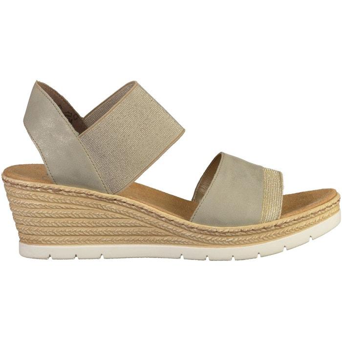 Sandales gris Rieker