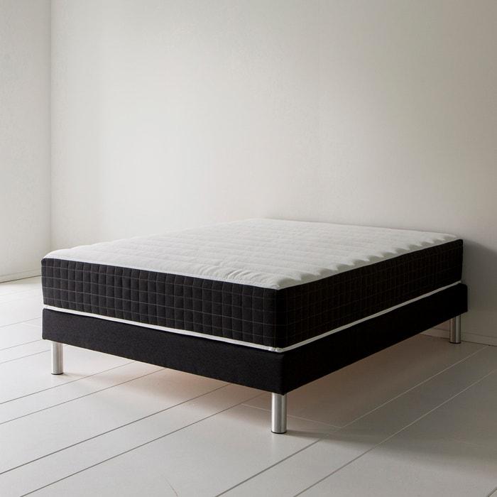 matelas latex l id al by r verie h 26 cm blanc. Black Bedroom Furniture Sets. Home Design Ideas