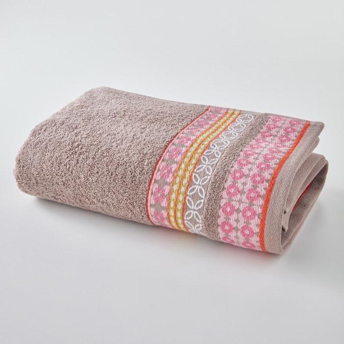 Handdoek in badstof (500g/m²), Miss China  La Redoute Interieurs image 0