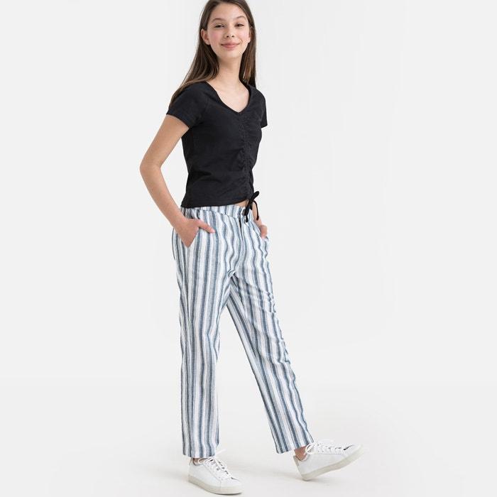 fc266974dd Pantaloni larghi a righe 10-16 anni
