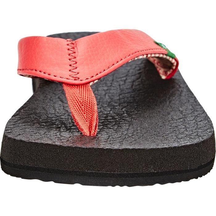 Yoga mat - sandales femme - rouge rouge Sanük