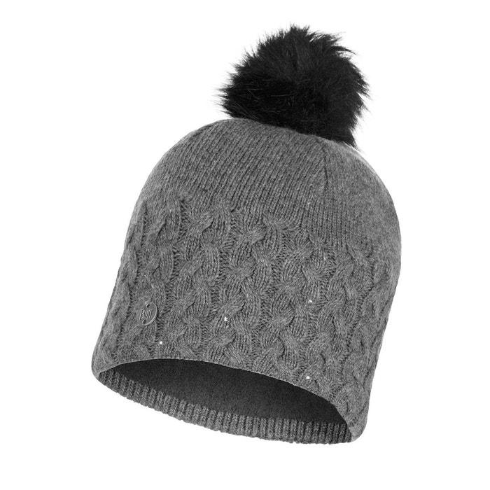 Bonnet tricot et polaire grey Buff   La Redoute 2cd66d49ff4