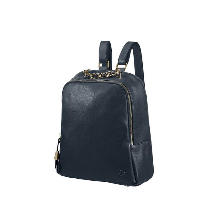 Satiny sac à dos bleu fonce Samsonite | La Redoute Sneakernews Vente En Ligne azWsc