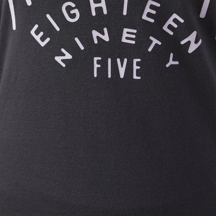 redondo Camiseta REEBOK mangas el sin con cuello qBfYP