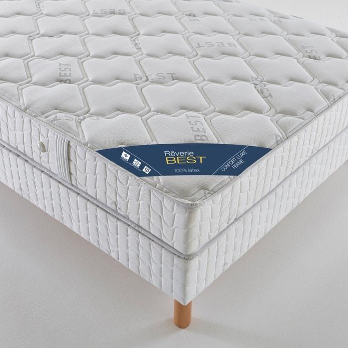 Image Matelas latex confort luxe ferme, haut. 21 cm JENNA DE ROSNAY
