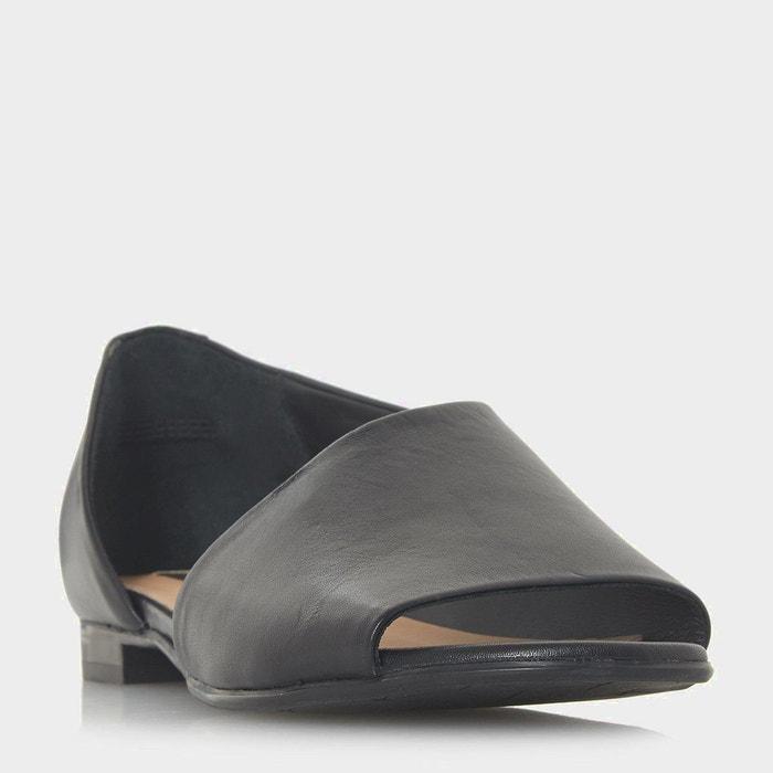 Chaussures peep toe asymétriques - le marche  Dune Black  La Redoute