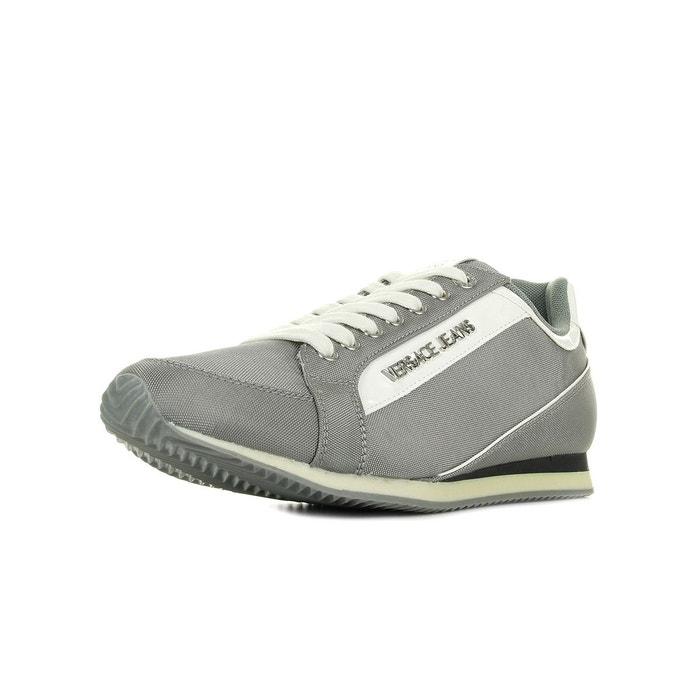 Sneaker uomo disa2 nylon gris + blanc + noir Versace