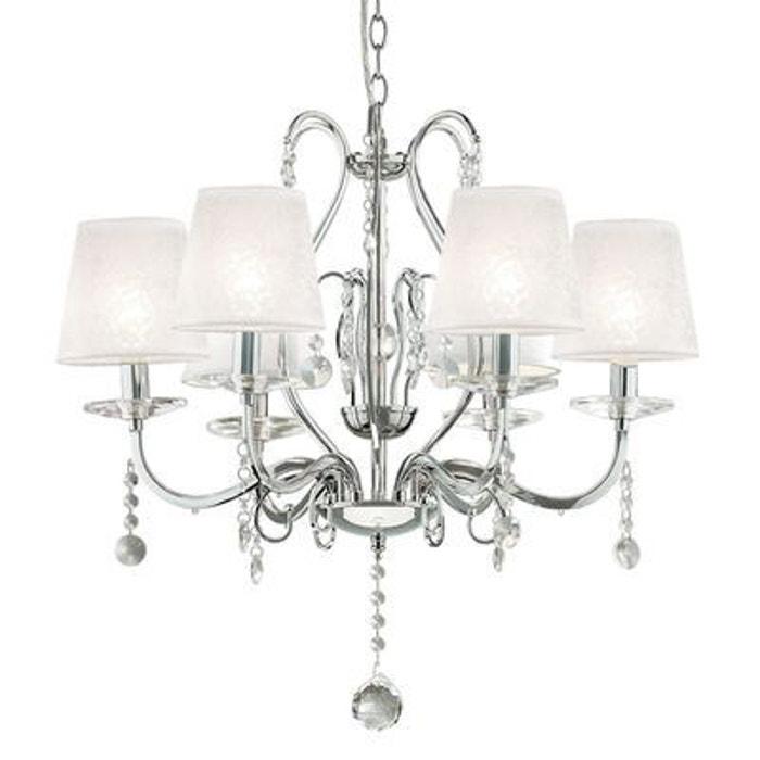 lustre senix 6x40w ideal lux 032597 boutica design la redoute. Black Bedroom Furniture Sets. Home Design Ideas