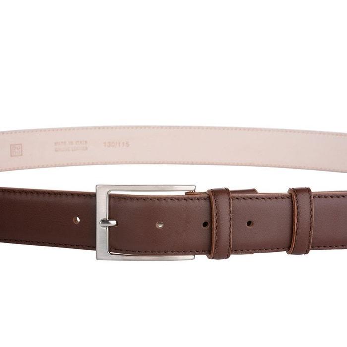 994c97eb06c4 Dudu ceinture homme en cuir véritable dessus et dessous made in italy  réglable de 33 mm avec boucle argent satiné Dudu   La Redoute