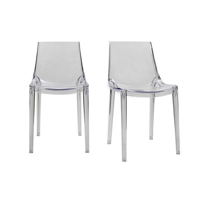 chaises design int rieur ext rieur lot de 2 yzel. Black Bedroom Furniture Sets. Home Design Ideas