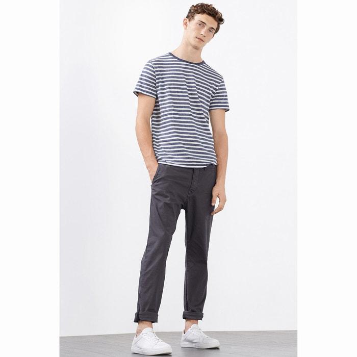 Image Pantalon chino en coton stretch ESPRIT