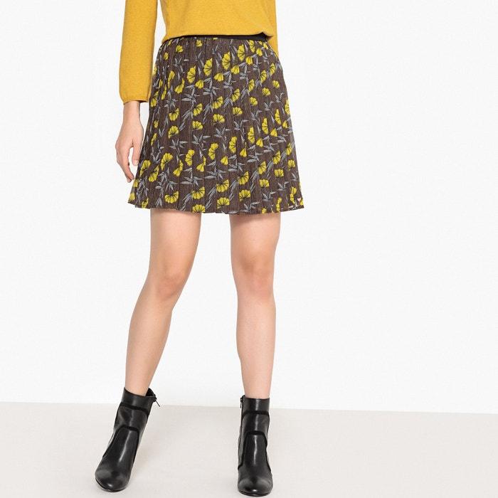 Юбка короткая с плиссировкой и цветочным принтом  LPB WOMAN image 0