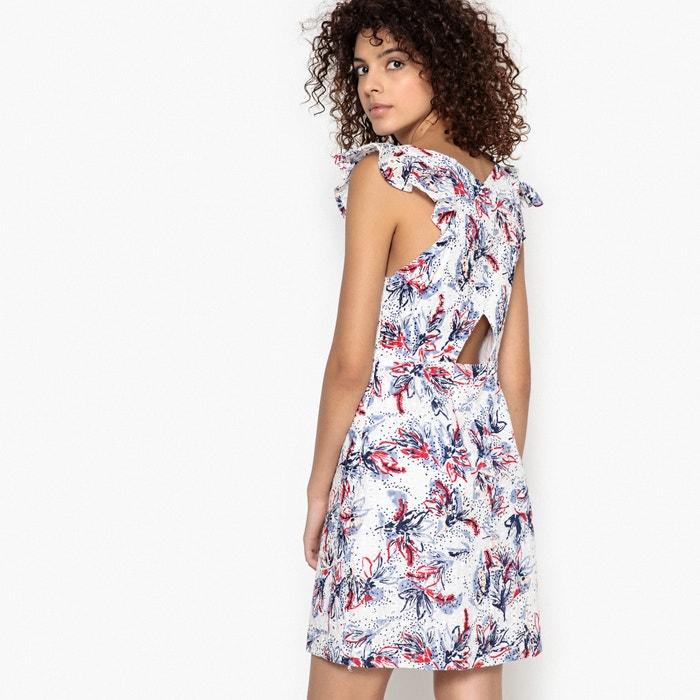 Clea Printed Embroidered Dress  SUNCOO image 0