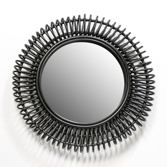 Imagen de Espejo de mimbre Tarsile, redondo Ø60 cm AM.PM.